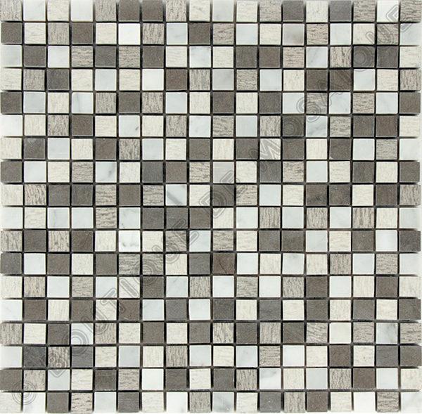 MM1503 Mosaïque gris bianco 30 x 30 cm