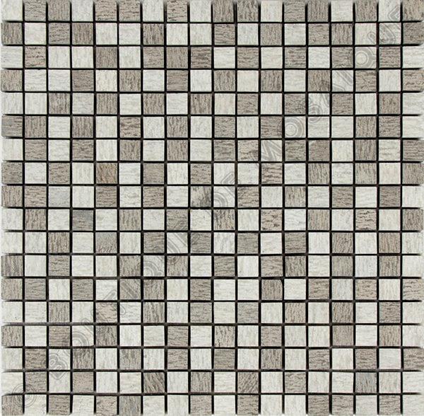 MM1504 mosaïque gris roulato 30 x 30 cm