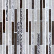 Application MMV09 mosaïque bozen new gris 30 x 30 cm