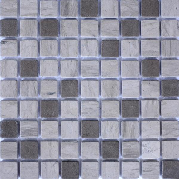 MM3004 mosaïque thala gris - gris foussana avec liquide