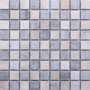 MM3016 mosaïque damier thala gris – thala beige