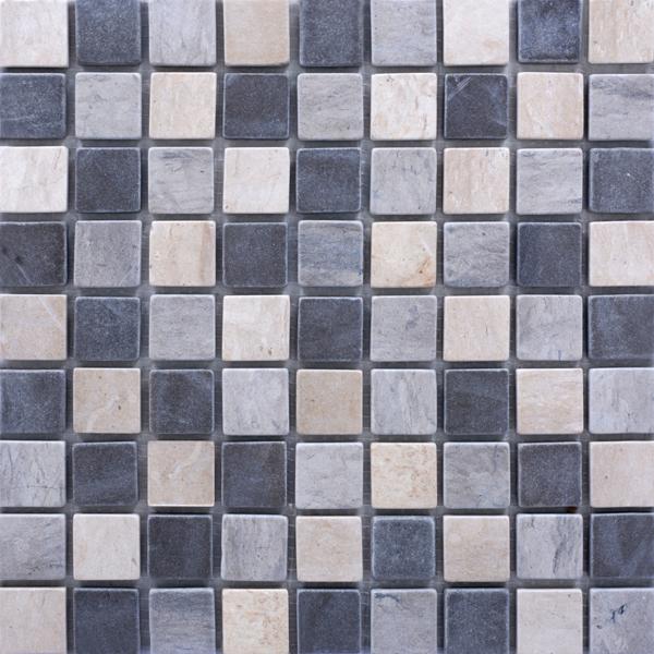 MM3018 mosaïque mix gris