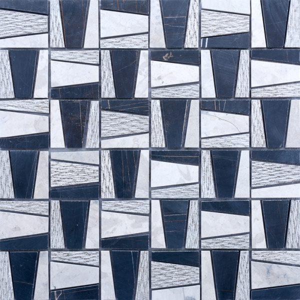 MMV141 Mosaïque pyramide noir