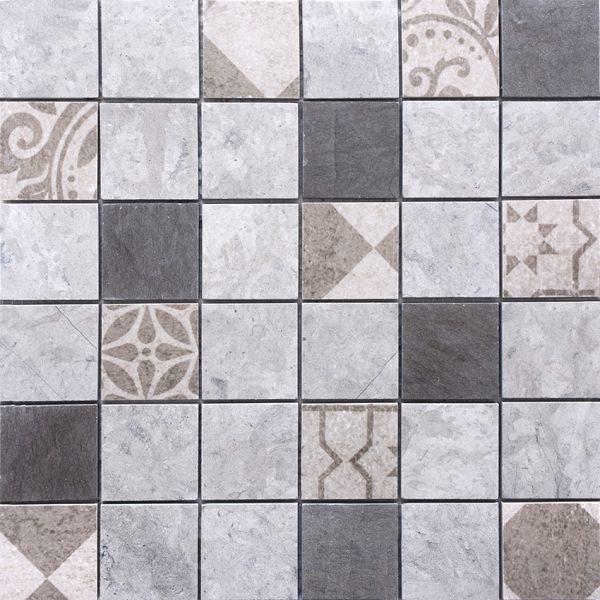 MMC03 Mosaïque gris 48x48 TSB1
