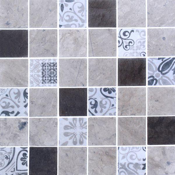 MMC04 Mosaïque gris 48x48 TSG