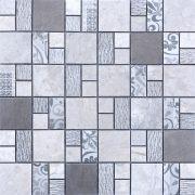 MMC06 Mosaïque quadro gris TSG